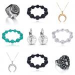 Новые кольца, браслеты, серьги, кулоны