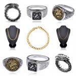 Новые кольца и цепочки