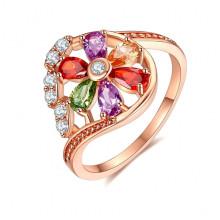 1E0005-1-17 Кольцо с позолотой, размер 17