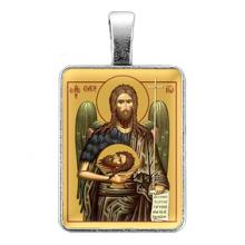 ALE324 Нательная иконка Святой пророк Иоанн Креститель