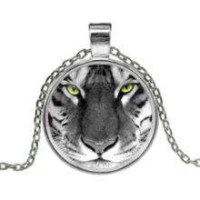 ALK113 Кулон с цепочкой Тигр
