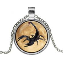 ALK141 Кулон с цепочкой Скорпион