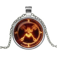 ALK151 Кулон с цепочкой Огненный знак