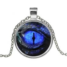 ALK167 Кулон с цепочкой Глаз дракона