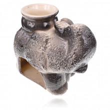 ARL032 Аромалампа Слон, 6х9х10см, керамика