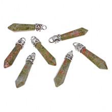 BJK013-UN Подвеска - маятник для биолокации Унакит
