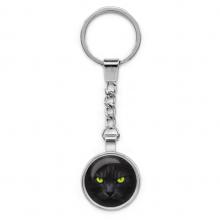 BK-ALK103 Брелок Чёрный кот