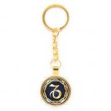 BK-ALK546 Брелок Знаки Зодиака - Козерог, цвет золот.