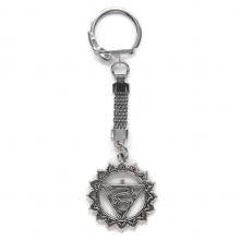 BK027 Брелок Вишуддха чакра, металл