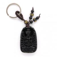 BK053 Брелок Авалокитешвара, стекло