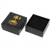 BOX007 Коробка для бижутерии Лотос квадратная 7,5х7,5х3,5см