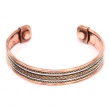 BS010 Медный магнитный браслет (лечебный)