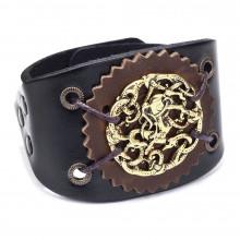 BS391 Кожаный браслет с пряжкой, 220х55мм