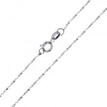 CN003-7 Тонкая цепочка для кулона 43,5см нержавеющая сталь