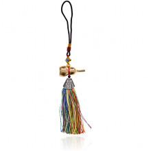 FEP042-1 Подвеска Фэн-Шуй Тыква-горлянка, разноцветная
