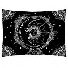 GB038 Гобелен Солнце и Луна (чёрный) 95х73см