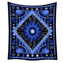 GB048 Гобелен Солнце (синий) 95х73см