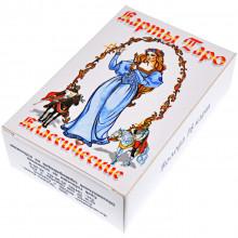 """KG009-B Карты гадальные """"Таро"""" белое большие 78 листов 54х85мм"""