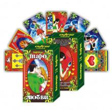 KG11026 Карты гадальные подарочные VIP Таро Любви 78 карт 14х8х3,3см