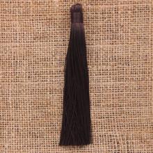 KIS001-03 Кисточка из ниток 12см, цвет Коричневый