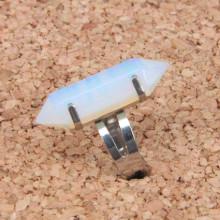 KL017-11 Кольцо с Лунным камнем
