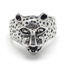 KL076 Кольцо Леопард 11мм (размер 8)
