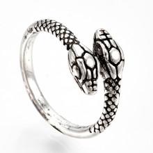 KL082 Кольцо Змея 17мм открытое