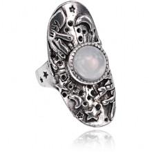 KL165-19 Кольцо Магический шар, размер 19