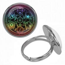 KLB033 Кольцо Магическая печать безразмерное
