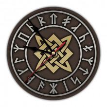 MCH056 Часы настенные Звезда Руси 20см, пластик