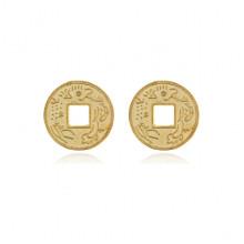 MN013-15 Китайская сувенирная монета Дракон, d.15мм