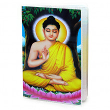 MOB001 Обложка для паспорта Будда, ПВХ