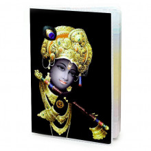 MOB012 Обложка для паспорта Кришна, ПВХ