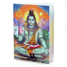 MOB035 Обложка для паспорта Шива, ПВХ