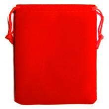 MS003R Мешочек бархат 10х12см красный