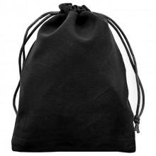 MS029-12x15 Бархатный мешочек 12х15см, цвет чёрный