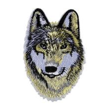 NS002 Нашивка Волк, 60х90мм