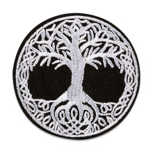 NS030 Нашивка Дерево жизни, 75х75мм