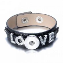 NSB-003 Браслет-основа LOVE, чёрный
