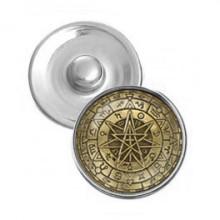 NSK009 Кнопка 18,5мм Волшебная звезда