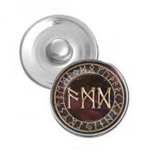NSK015 Кнопка 18,5мм Защита от сглаза, порчи, зла