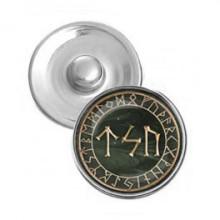 NSK026 Кнопка 18,5мм Сила, энергия, достижение цели