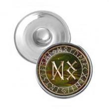NSK028 Кнопка 18,5мм Благополучие, здоровье, долголетие