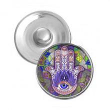 NSK087 Кнопка 18,5мм Рука Фатимы