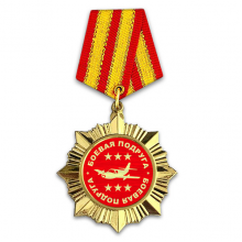 OR040 Сувенирный орден Боевая подруга