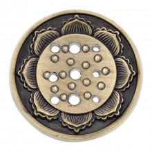 PBK001-B Подставка для благовоний Лотос, цвет бронзовый
