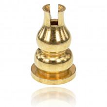 PBK012 Подставка для благовоний Тыква-горлянка, цвет золотой