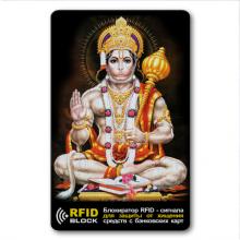 RF048 Защитная RFID-карта Хануман, металл