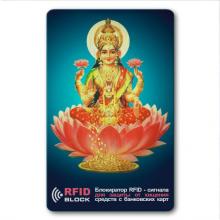 RF049 Защитная RFID-карта Лакшми, металл