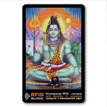 RF056 Защитная RFID-карта Шива, металл
